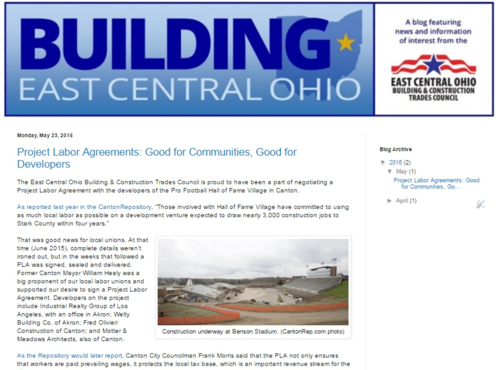 East Central Ohio Building & Construction Trades Council